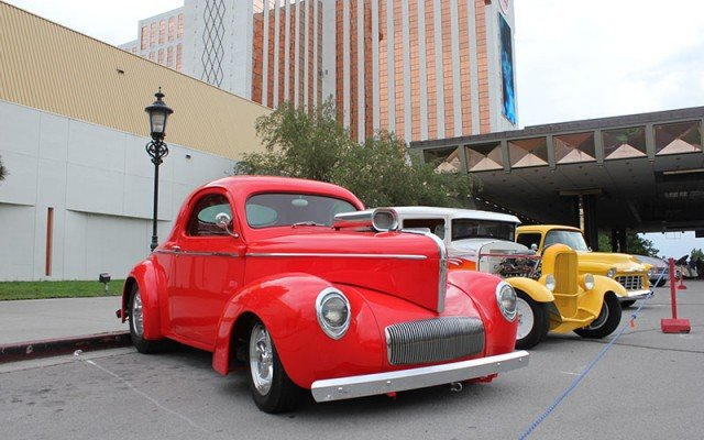Willys Pro Street here at 2014 Hot August Nights at the Grand Sierra Hotel