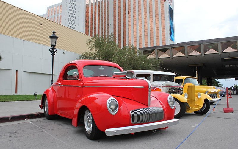 2014 Hot August Nights at Grand Sierra Hotel Show & Shine