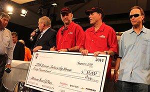 Hot-Rod Garage team wins Barrett-Jackson Cup at 2014 Hot August Nights