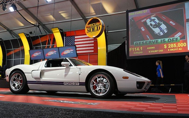 2005 Ford GT sold at the 2014 Mecum Auction at Pebble Beach