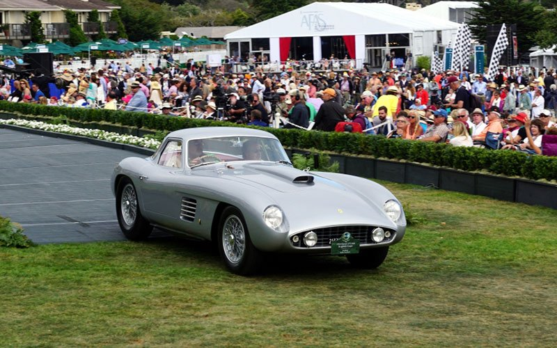 1954 Ferrari 375 MM Coupe wins 2014 Pebble Beach Concours