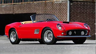 1961 Ferrari California Spider sold at 2014 Gooding & Company Auction