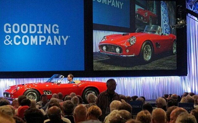 1961 Ferrari California sells at the 2014 Gooding & Company Auction