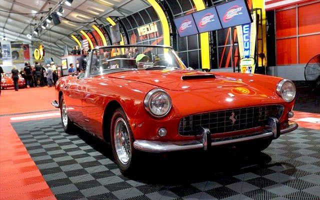 1961 Ferrari 250 Series II Cabriolet sold at the 2014 Mecum Auction at Pebble Beach