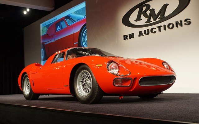 1964 Ferrari 250 LM sold at the 2014 Pebble Beach RM Auction
