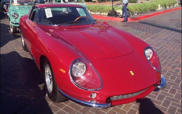 1967 Ferrari 275 GTB/4 sold at 2014 Pebble Beach RM Auction