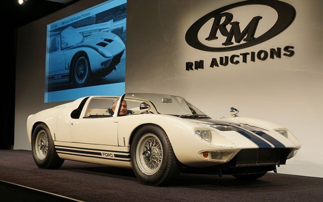 1965 Ford GT-40 Prototype sold at 2014 Pebble Beach RM Auction