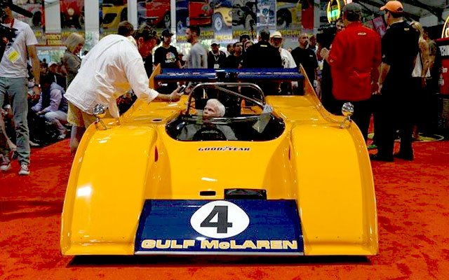 1972 Gulf McClaren M20 Can Am sold at 2014 Mecum Auction at Pebble Beach