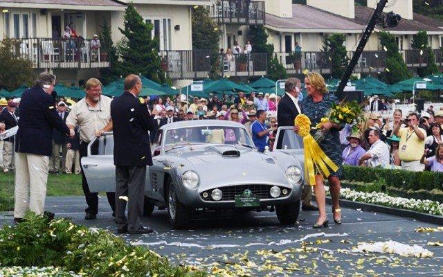 1954 Ferrari 375 MM Coupe wins 2014 Pebble Beach Concours D'Elegance