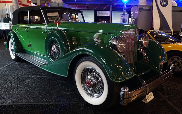 1934 Packard Twelve 1108 Convertible Sedan
