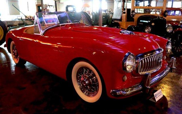 1951 Nash Healey Roadster