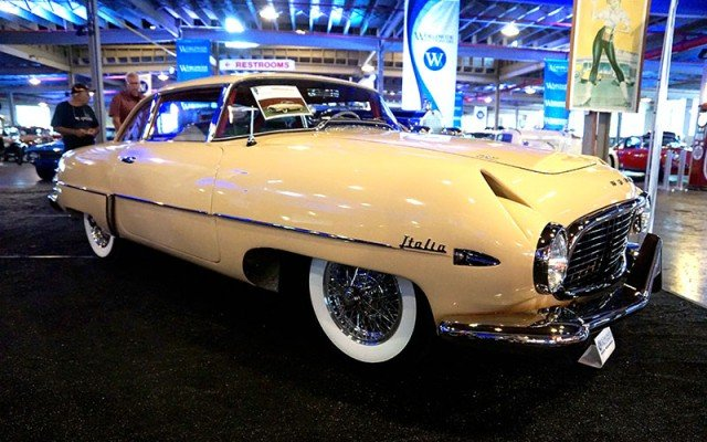 1955 Hudson Italia Coupe sale by Worldwide Auctioneers at the 2014 Auburn Festival