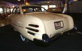 Unusual rear valance on the 1955 Hudson Italia Coupe