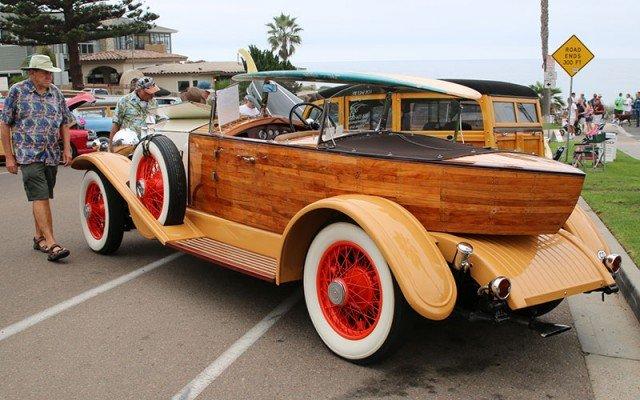 1932 Rolls-Royce Woodie Boattail