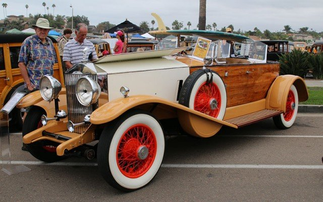 1932 Rolls-Royce front view