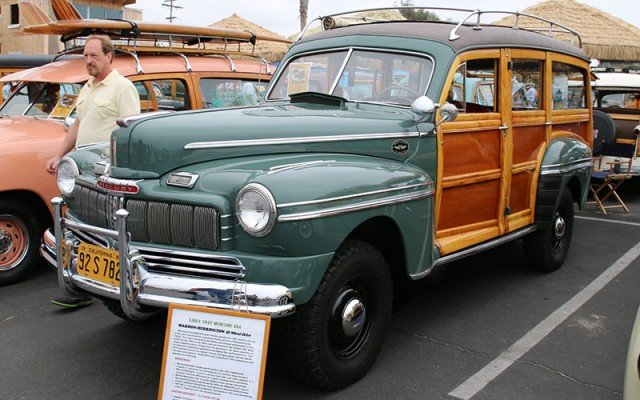 1947 Mercury 4X4 Woodie Wagon