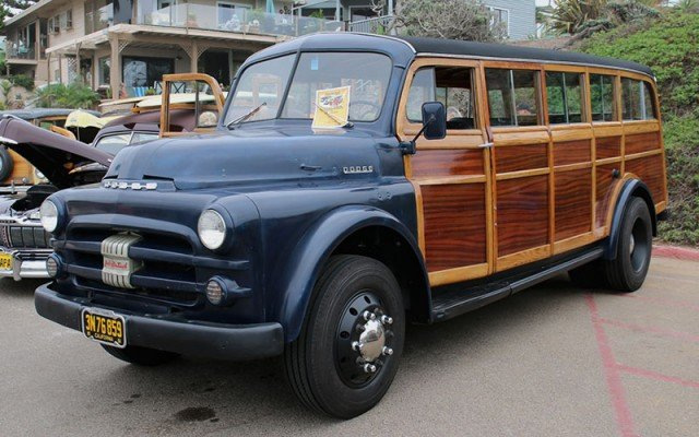 1952 Dodge Woodie Bus