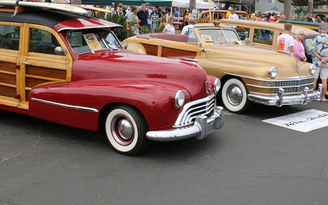 Woodie Car Show