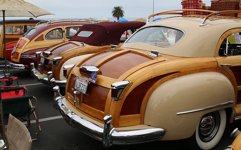 Classic Woodies from the Wavecrest Woodie Show