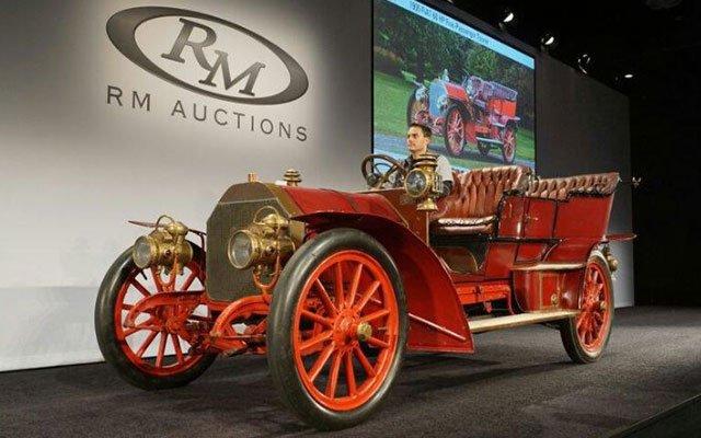 1905 Fiat all-aluminum touring car