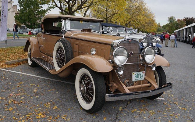 1930 Cadillac V16 at the 2014 AACA Hershey Car Show