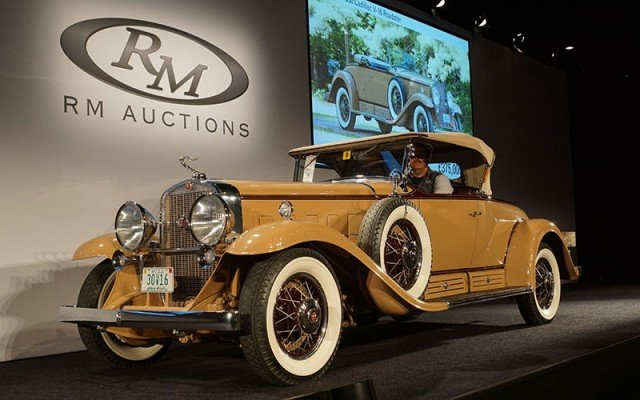 1930 Cadillac V16 sold at RM Auction at Hershey