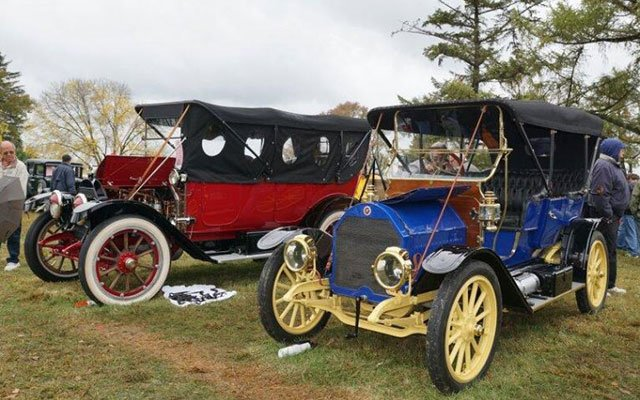 Antiques cars at the 2014 AACA Hershey Car Show