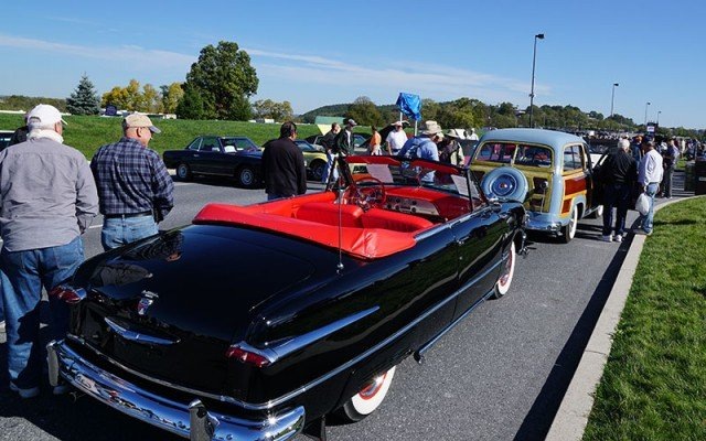 Cars at 2014 AACA Hershey Car Show