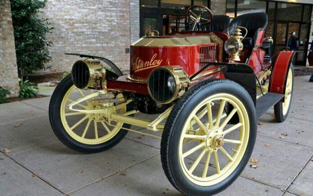 Stanley-Steamer at the 2014 AACA Hershey Car Show