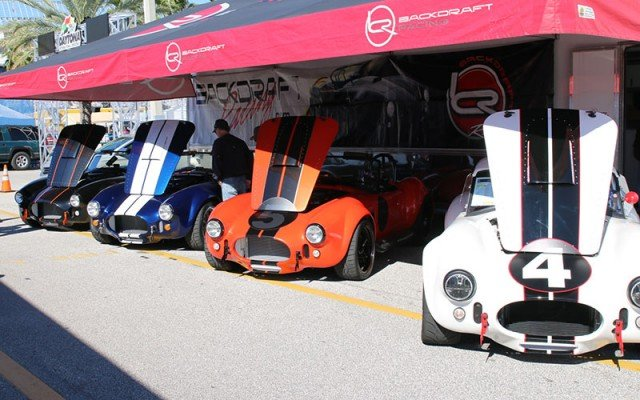 backdraft cobras at the Daytona Turkey Run