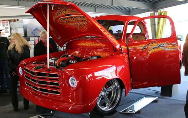 1950 Studebaker Pickup truck restored for NASCAR legend Bobby Allison