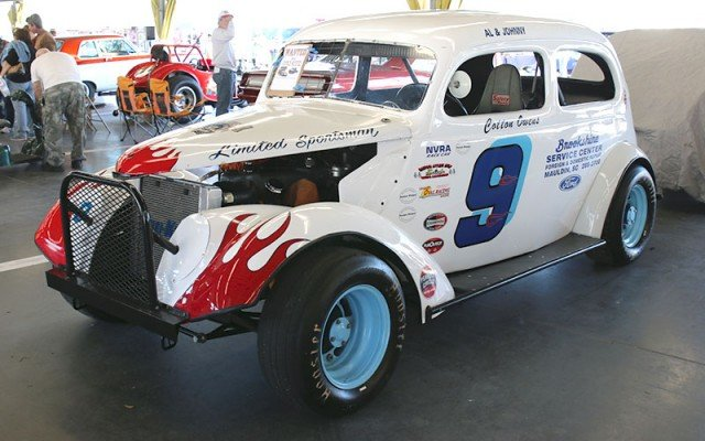 1939 Ford actually driven by Cotton Owens in his last NASCAR race.
