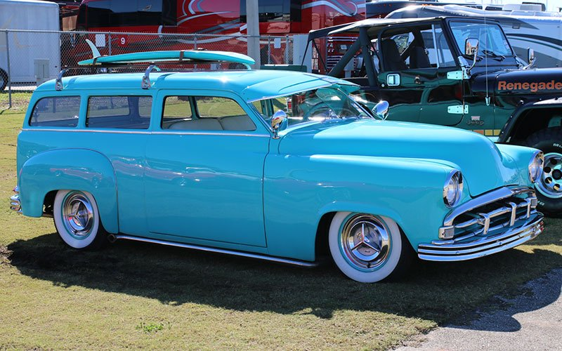 Chevy Wagon on Willys Wagon Fender Flares