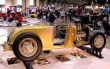 1932 Ford Roadster from side view