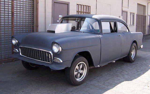 Two Lane Blacktop 1955 Chevy Street Racer