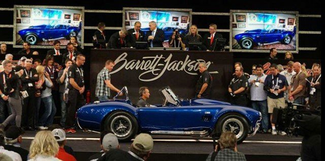 Top sale at the 2015 Barrett-Jackson Auction