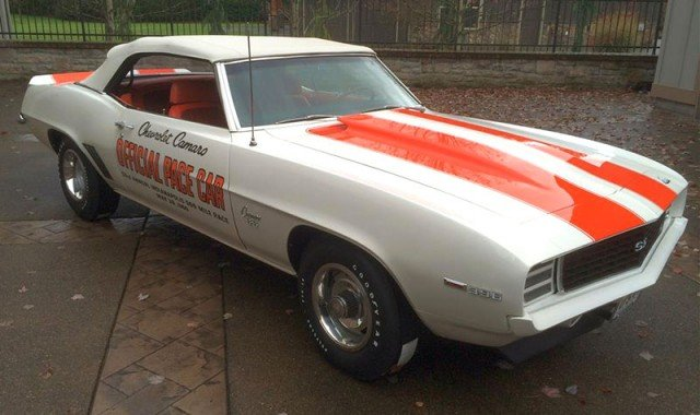 1969 Camaro Indy Pace Car Convertible at the 2015 Barrett-Jackson Auction