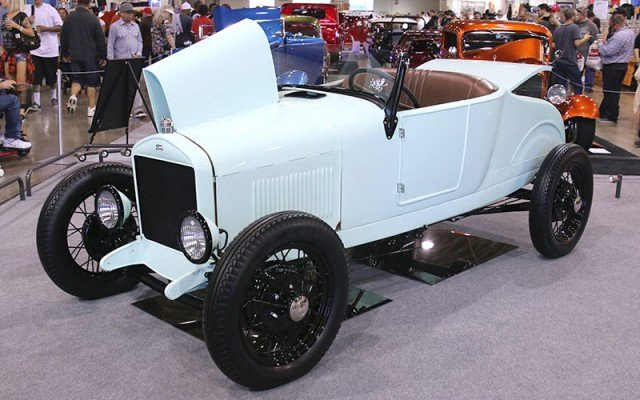 1927 Ford Model T called the Mint-T