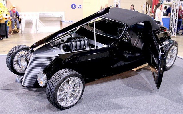 1934 Ford Rats Glass Roadster for AMBR at the Grand National Roadster Show