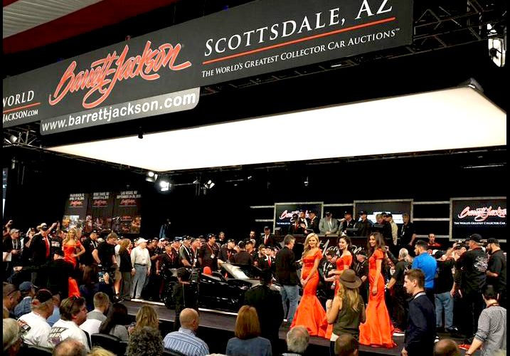 2015 Barrett-Jackson Auction Friday night