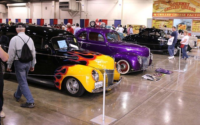 Display of 1940 Fords among the Top Cars at the 2015 Grand National Roadster Show