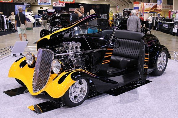 1933 Ford Roadster wins America's Most Beautiful Roadster Award