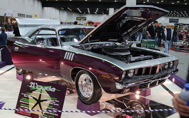 1971 Plymouth Cuda at 2015 Detroit  Autorama