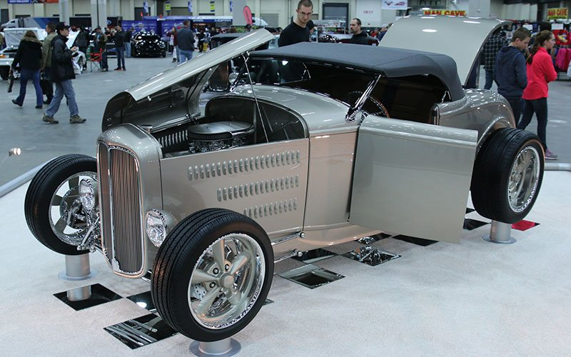 """1932 Ford Roadster """"Deuce Flyer"""" made the Great 8 at the 2015 Detroit Autorama"""