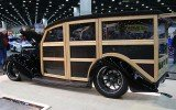 37 Ford Woodie Wagon rear valance