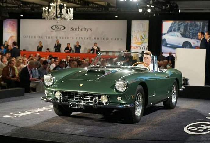 1960 Ferari 400 sold at the RM/Sotheby Auction at Amelia Island