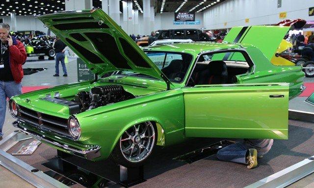 1965 Dodge Dart in the Great 8 at 2015 Detroit Autorama