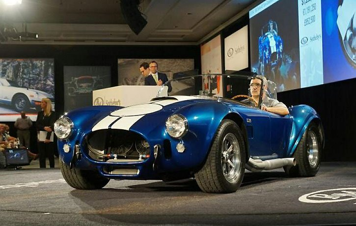 1967 Shelby 427 Cobra sold here at the 2015 Amelia Island Concours at the RM/Sotheby Auction