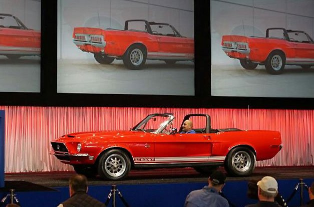 1968 Shelby GT500 KR Convertible at the Gooding & Company  Auction