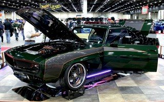 "1969 Custom Camaro ""Infused"" at 2015 Detroit Autorama"